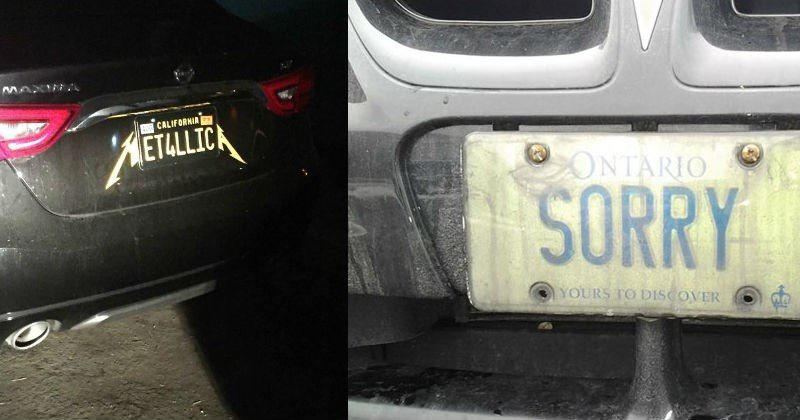 Clever License Plates