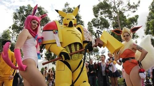 cosplay,pikachu,armor