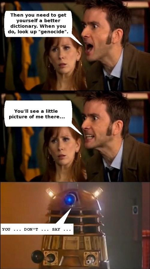 The Doctor's an expert