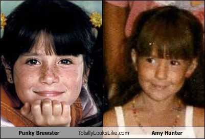 Punky Brewster Totally Looks Like Amy Hunter