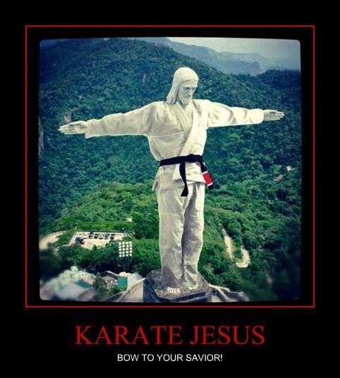 jesus,karate