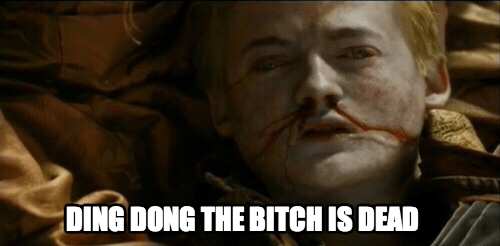 gifs Game of Thrones season 4 purple wedding - 8146539520