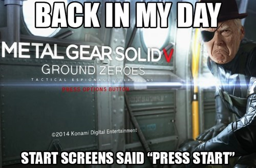 metal gear solid ground zeroes back in my day - 8146688512