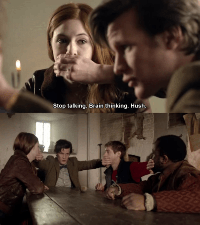 shut up rory williams 11th Doctor amy pond - 8146722304
