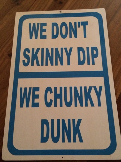 skinny dipping,chunky dunk,obesity