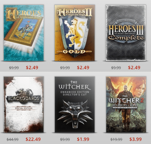 gog,sale,witcher,Video Game Coverage