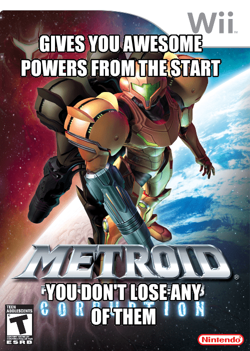 good game,metroid prime 3,wii
