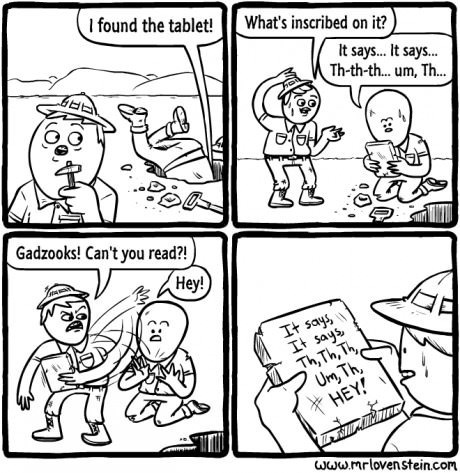 archeology tablets pranks web comics - 8147223040
