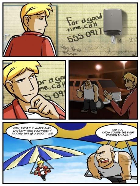 friends Good Times web comics - 8147267328