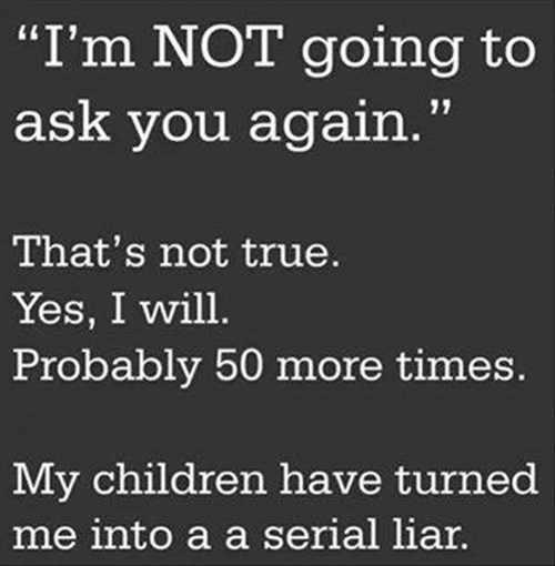 lies parenting kidds