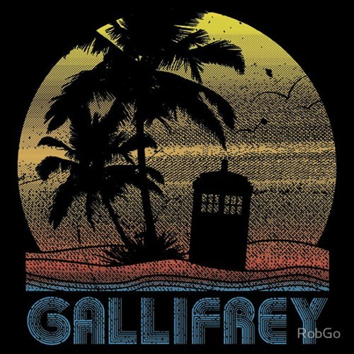 gallifrey tshirts vacation - 8147306496