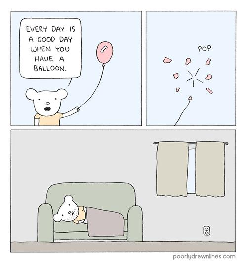 Balloons,sad but true,web comics