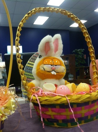 easter easter basket 420 garfield - 8147388416