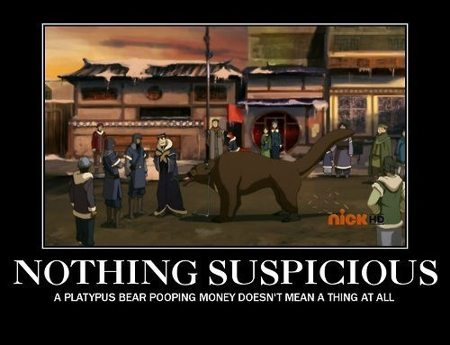 suspicious Avatar normal legend of korra funny - 8147411200