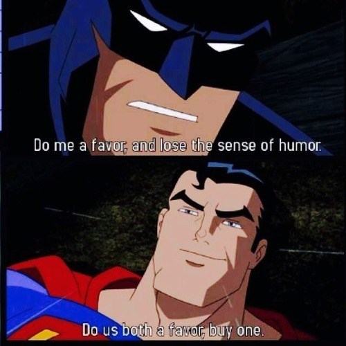 Superman Is More Like Sassyman