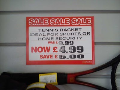 security,tennis racket,for sale