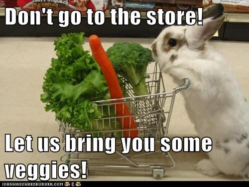 easter vegetables puns cute rabbits - 8148261376