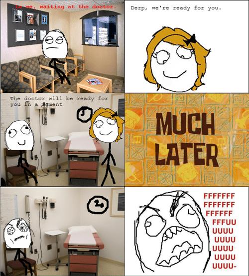 rage doctors office waiting - 8148403200