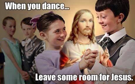 jesus dancing prom - 8148701184