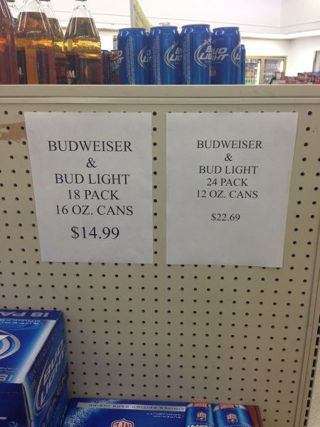 beer rip off budweiser funny - 8148736256
