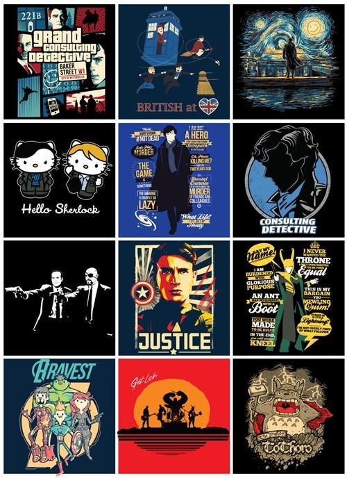 tshirts The Avengers Sherlock - 8149047552