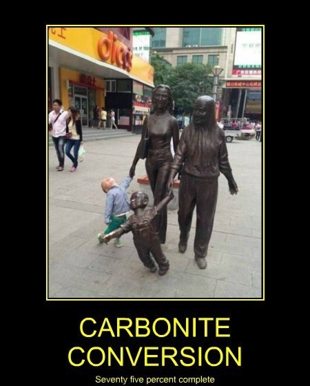 baby wtf statues carbonite funny - 8149093632