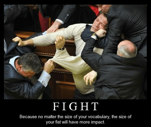 talking fight fists funny - 8149102848