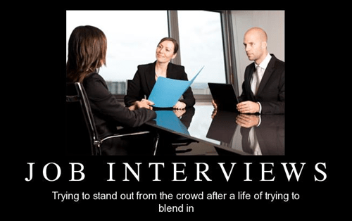 job interview funny