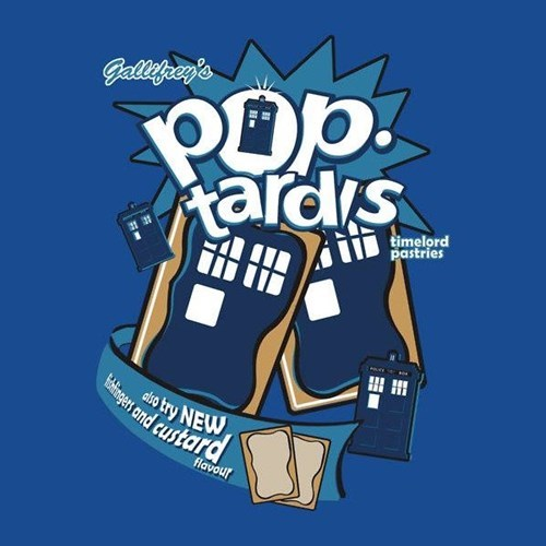 pop tarts tshirts tardis - 8149146624