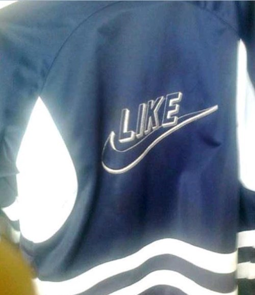 logo poorly dressed nike knockoff - 8149152256