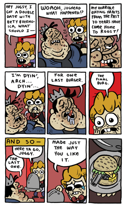 Archie guns Archie Comics jughead web comics - 8149344000