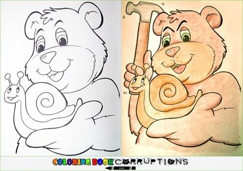 Cartoon - COLGRING BOOKCERRUTIONS