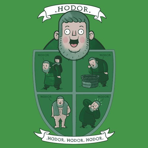 hodor Game of Thrones tshirts - 8149375232