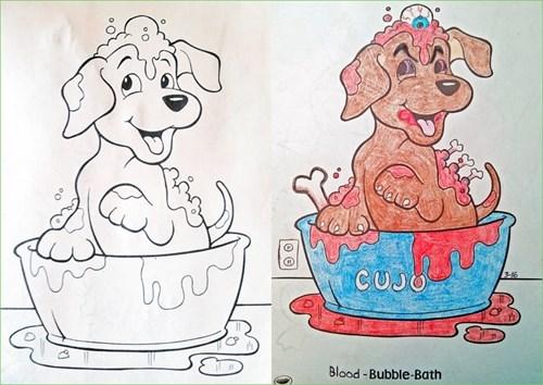 Canidae - blade 6 CUJO Blood-Bubble-Bath