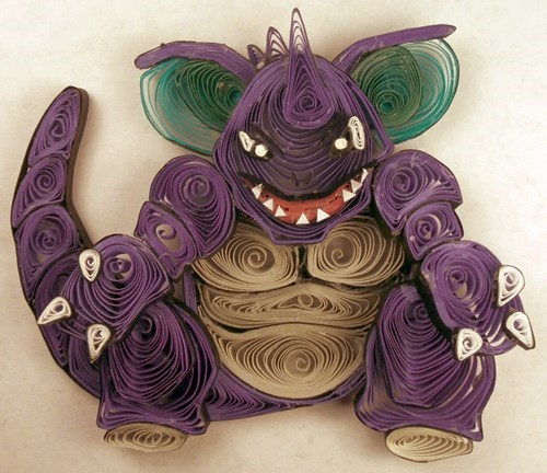 Pokémon,art,list,paper quilling