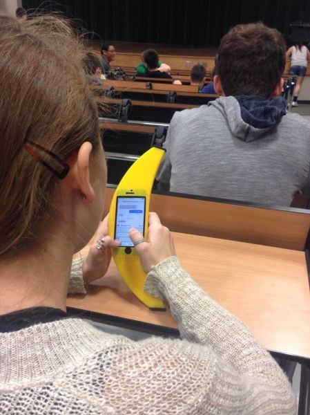 banana iphone case failbook