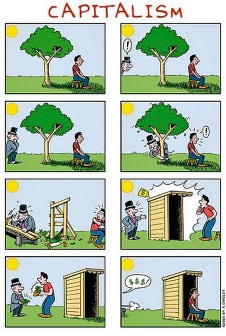 trees capitalism politics web comics - 8150598912