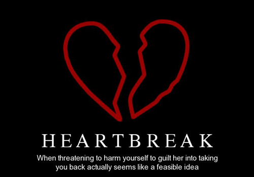 bad idea,heartbreak,funny