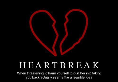 bad idea heartbreak funny