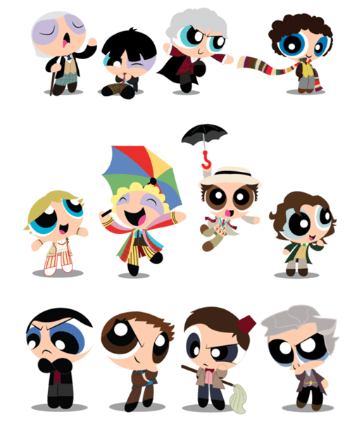 Fan Art powerpuff girls doctor who - 8150642944