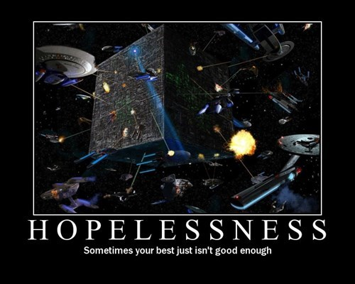 borg,hopeless,Star Trek,funny