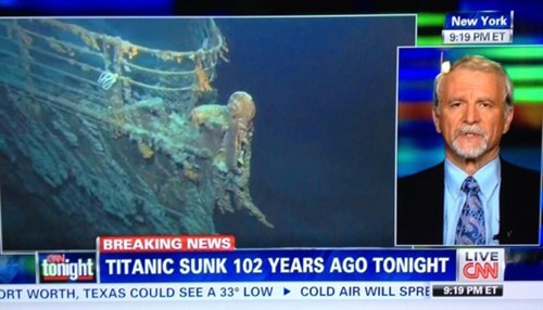 titanic news cnn facepalm - 8150812160