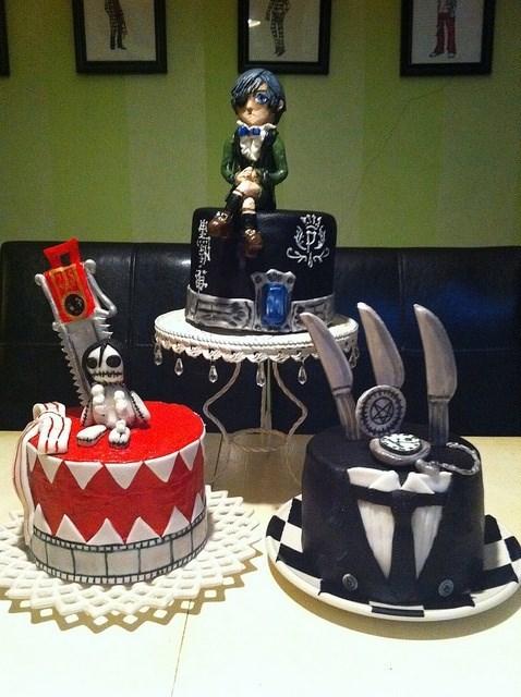 cake anime Kuroshitsuji - 8150963712