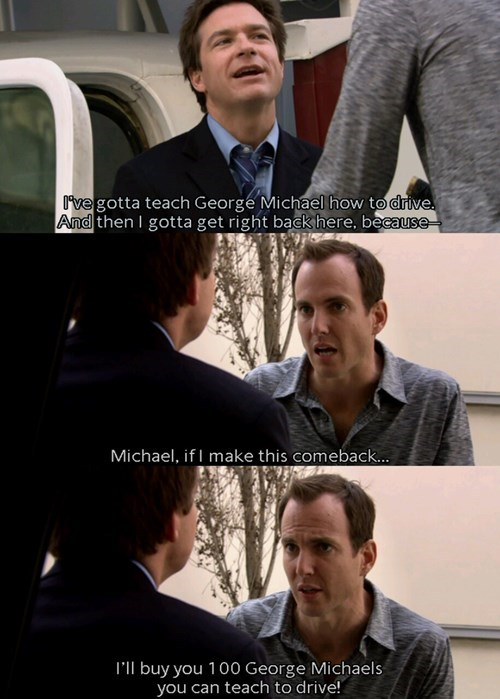 arrested development George Michael funny - 8150963968