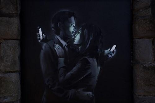 phones Street Art hacked irl - 8150994688
