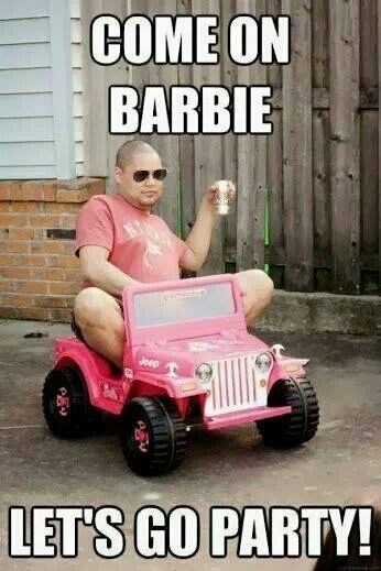 beer Barbie Party funny - 8151000576