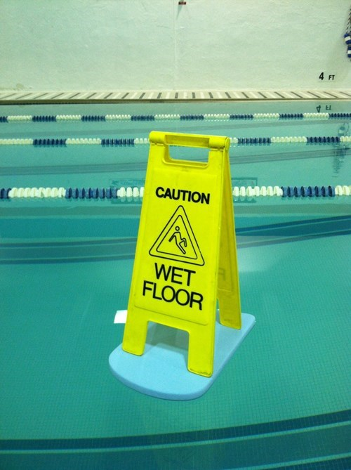 sign pool irony g rated win - 8151033856