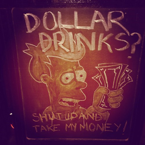 one dollar sign funny - 8151079424