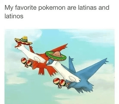 Pokémon,spanish,latias,latios