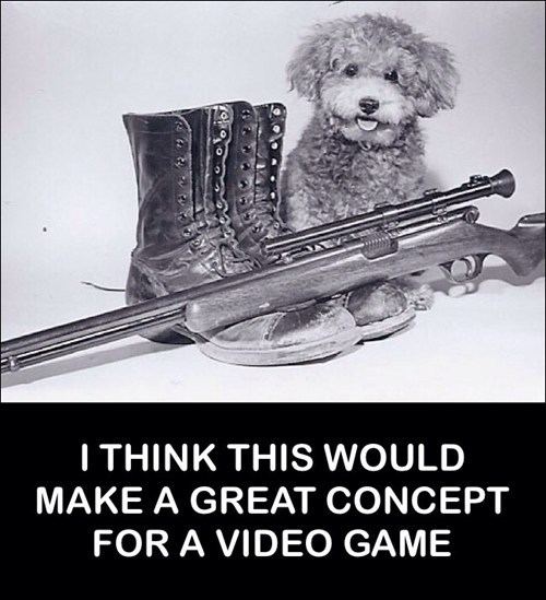 pups,mascots,video games